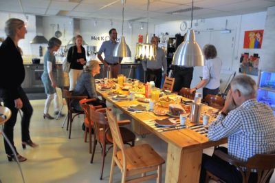 Afbeelding lunch Masterclass MVO Communicatie