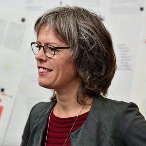 Portret Christel Berkhout actief luisterend