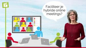 Blogafbeelding hybride meeting faciliteren